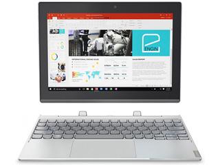 Lenovo/レノボ 10.1型Windowsタブレット ideapad Miix 320 80XF0007JP Wi-Fiモデル プラチナシルバー 単品購入のみ可(取引先倉庫からの出荷のため) 【クレジットカード決済、代金引換決済のみ】