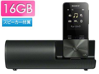 SONY/ソニー NW-S315K-B(ブラック) スピーカー付 16GB ウォークマン Sシリーズ(メモリータイプ)