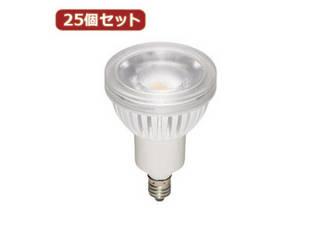 YAZAWA YAZAWA 【25個セット】 ハロゲン形LEDランプ4.3W2700K60°(超広角タイプ) LDR4LWWE11X25
