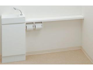 KAKUDAI/カクダイ 497-504-W 手洗カウンター L・R兼用タイプ (ホワイト)