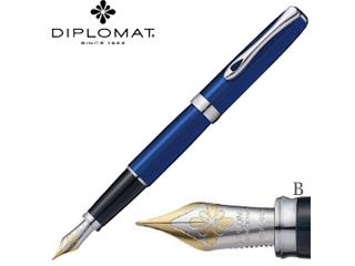DIPLOMAT/ディプロマット 万年筆■エクセレンスA2【スカイライン】■14Kペン先 【B/太字】(1958113)