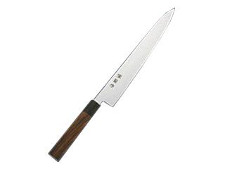 河村刃物 堺菊守(モリブデン鋼)和式 紫檀柄 筋引 27cm