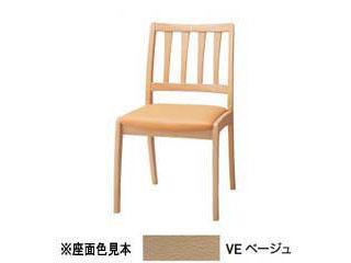 KOIZUMI/コイズミ 【SELECT BEECH】 縦ラダー PVCレザー 木部カラーナチュラル色(NS) KBC-1205 NSVE ベージュ 【受注生産品の為キャンセルはお受けできません】