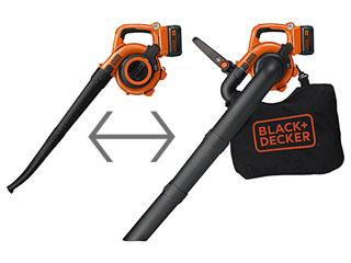 BLACK&DECKER/ブラック&デッカー GWC36BN 【本体のみ】36Vガーデンブロワーバキューム