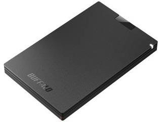 HDDより高速転送のSSD 新品■送料無料■ コネクタ形状を刷新 外付けSSDでPS4を高速化 BUFFALO 正規認証品!新規格 バッファロー USB3.1 ブラック SSD-PG960U3-BA Gen1 960GB 対応 ポータブルSSD