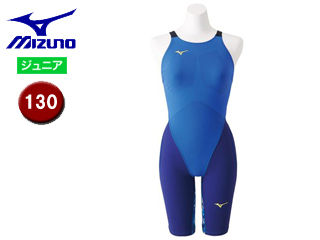 mizuno/ミズノ N2MG8912-27 MX-SONIC G3 ハーフスーツ ジュニア 【130】 (ブルー)