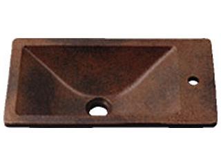 KAKUDAI/カクダイ 493-010-M 角型手洗器 (窯肌)
