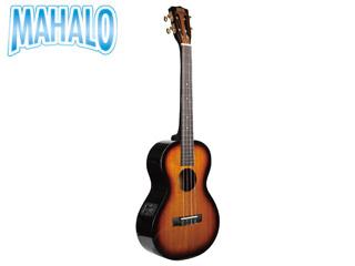 MAHALO/マハロ MJ4 VT3TS Javaシリーズ バリトンサイズ ピックアップ付き ウクレレ