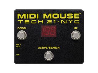 TECH21/SansAmp 【正規輸入品】 MIDIプログラムチェンジペダル MIDI MOUSE