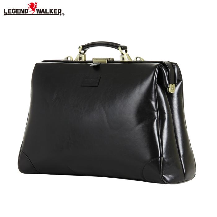 LEGEND WALKER/レジェンドウォーカー 9106-45 2way 横型 ダレスバッグ (ブラック)