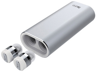 Yell Acoustic/エールアコースティック モバイルバッテリー対応 Bluetooth 4.1 完全ワイヤレスイヤホン Beat-in PowerBank BI9316 シルバー