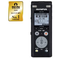 OLYMPUS/オリンパス DM-750 BLK(ブラック) ICレコーダー Voice-Trek 【4GBモデル】