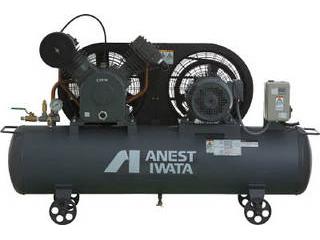 ANEST IWATA/アネスト岩田 【代引不可】レシプロコンプレッサ(タンクマウント・オイルタイプ) 60Hz TLP37EF-10M6