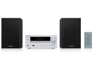 PIONEER/パイオニア X-HM26-S(シルバー) Bluetooth機能搭載CDミニコンポーネントシステム