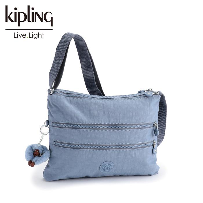 KIPLING/キプリング ALVAR/アルバー 斜めがけショルダー バッグ (Timid Blue C/ティミッドブルーコンボ)2018秋冬新色