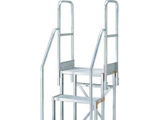 TRUSCO/トラスコ中山 作業用踏台用手すり H900 階段両手すり TSF-51015用 TSF-TE9