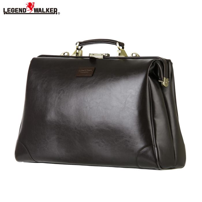 LEGEND WALKER/レジェンドウォーカー 9106-45 2way 横型 ダレスバッグ (チョコ)