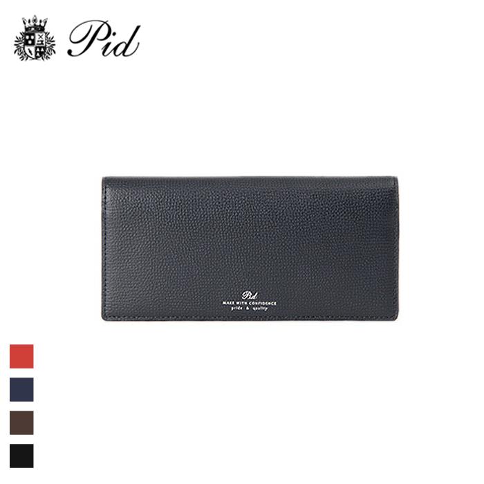 2d4c457924c2 PID/ピー·アイ·ディー PAW1005 イタリアンレザー 二つ折り 長財布 ...