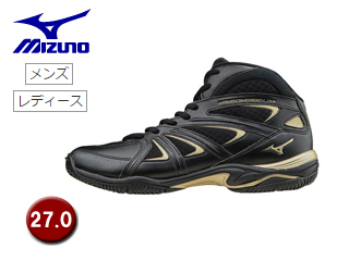 mizuno/ミズノ K1GF1571-09 ウエーブダイバース LG3 フィットネスシューズ 【27.0】 (ブラック)