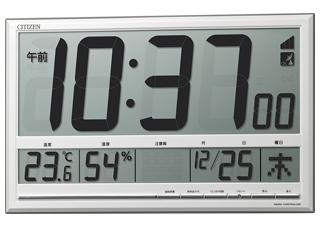 CITIZEN/シチズン 8RZ200-003 電波時計/掛置兼用/プラスチック枠 白