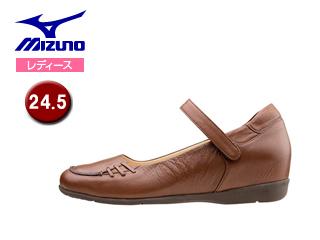 mizuno/ミズノ B1GH1567-58 レディースウォーキングシューズ SELECT505 【24.5】 (ダークブラウン)