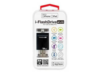Photofast Photofast i-FlashDrive EVO for iOS&Mac/PC Apple社認定 LightningUSBメモリー 64GB IFDEVO64GB