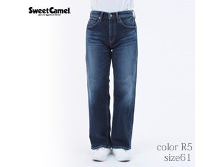 Sweet Camel/スイートキャメル ハイパワーストレッチdenimsta/ワイドストレート【R5=濃色USED/size 61】■(SC5384)