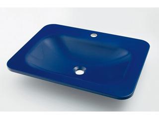 KAKUDAI/カクダイ #MR-493220B 角型洗面器 (ロイヤルブルー)