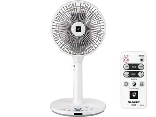 【nightsale】 【台数限定!ご購入はお早めに!】 SHARP/シャープ 【オススメ】PJ-H2DS-W DCモーター搭載リビング扇風機 (ホワイト系)