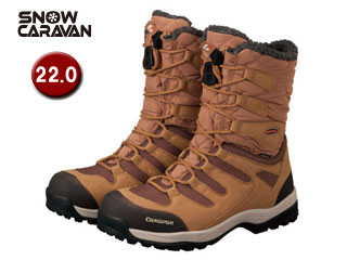 SNOW CARAVAN/スノーキャラバン 0023010 ウィンターブーツ SHC-10 (ライトブラウン)【22.0】