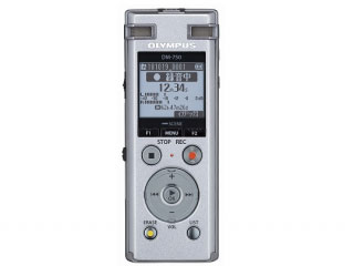 OLYMPUS/オリンパス DM-750 SLV(シルバー) ICレコーダー Voice-Trek 【4GBモデル】