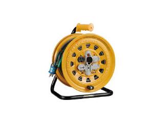 HATAYA/ハタヤリミテッド 温度センサー付コードリール 単相100V 20m アース・ブレーカー付 BG-201KXS