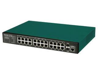 パナソニックESネットワークス 10/100/1000Mbps24ポート+SFP2スロット ギガスイッチイングハブ PN28240i Switch-M24eGi