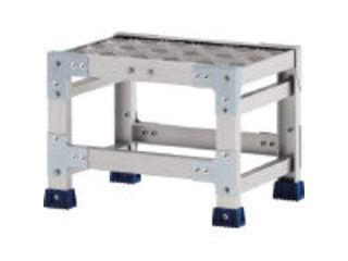 ALINCO/アルインコ 【代引不可】作業台(天板縞板タイプ)1段 天板寸法300×400mm 高0.3m CSBC133S