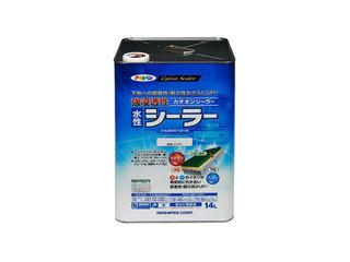ASAHIPEN/アサヒペン 強浸透性水性シーラー 14L 透明(クリヤ)
