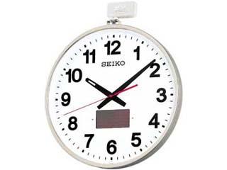 SEIKO/セイコークロック 電波掛時計 屋外用ソーラー 屋外防雨型 SF211S