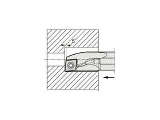 KYOCERA/京セラ 内径加工用ホルダ A16Q-SCLCR09-18AE