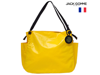 Jack Gomme/ジャックゴム フランス製 0002 1566LEVANT トートバッグ SAFRAN ポーチ付