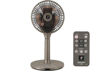 【nightsale】 【台数限定!ご購入はお早めに!】 SHARP/シャープ 【オススメ】PJ-H2DS-T DCモーター搭載リビング扇風機 (ブラウン系)
