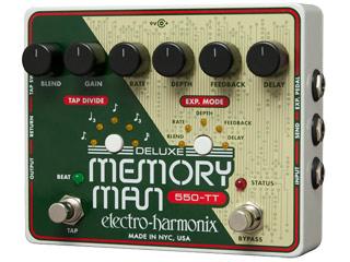【nightsale】 electro harmonix/エレクトロハーモニクス Deluxe Memory Man Tap Tempo 550 アナログディレイ エフェクター 【国内正規品】