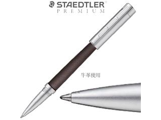 STAEDTLER PREMIUM/ステッドラープレミアム 水性ボールペン/牛革■【ブラウン軸/ブラックインク】■コリウムシンプレックス(9PC237M-9)