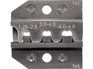 大人気定番商品 RENNSTEIG/レンシュタイクヴェルクツォイゲ 624-745-3-0:ムラウチ 624-745 圧着ダイス 1.25 オープンバレル接続端子-DIY・工具