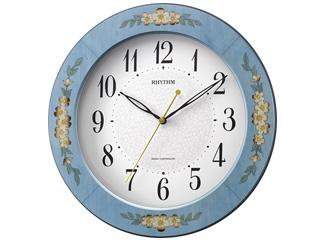 RHYTHM/リズム時計 8MY521SR04 電波掛け時計 アマービレM521