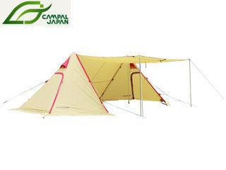 CAMPAL JAPAN/キャンパルジャパン 3342 Twin Pilz Fork/ツインピルツ フォーク (サンド×レッド) PKSS06