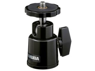 ワンアクションで自由な方向にカメラを向けることができる小型高性能な自由雲台です HAKUBA 訳あり商品 ハクバ 小型自由雲台 大特価 ブラック BH-W2