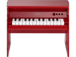 KORG/コルグ tinyPIANO-RD デジタル・トイ・ピアノ (レッド) 【子ども用】【ミニピアノ】【贈り物】【入園祝い】
