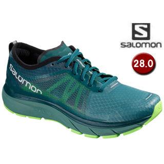 SALOMON/サロモン L40476900 SONIC RA MAX ランニングシューズ メンズ 【28.0cm】(Hydro/ReflectingPond/GreenGecko)