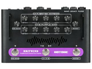 HOTONE/ホットーン BRITWIND(ブリット・ウィンド) ポータブル デュアルチャンネル・フロアーアンプ