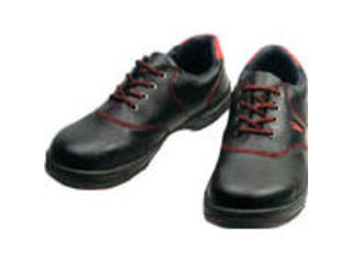 Simon/シモン 安全靴 短靴 SL11-R黒/赤 23.5cm SL11R-23.5