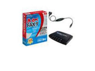 インターコム パソコンFAXソフト まいとーく FAX 9 Pro モデムパック(USB変換ケーブル付き) 0868320 納期にお時間がかかる場合があります